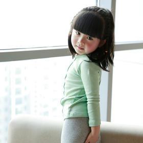 童装 2016 春新品 女童长袖T恤 竖条打底衫宝宝上衣