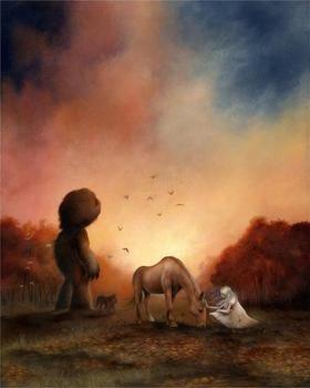【版画】Dan May(美)|Daybreak(破晓)