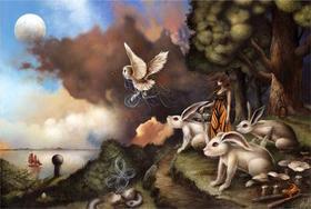 【版画】Dan May(美)|Escaping The Weight Of Darkness(逃离黑暗的重负)