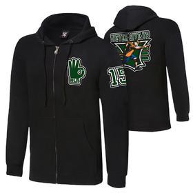 约翰·塞纳John Cena 15X Full-Zip 帽衫卫衣