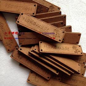 手工小木牌 handmand木标签 手工DIY材料 木质小物木扣 服装辅料
