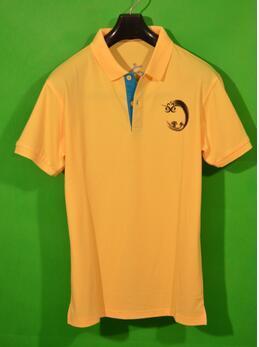 黄色太极 T恤衫