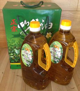【德化特产】德化农产品绿源小茶油 节日馈赠佳品1.5L