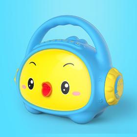 小鸡叫叫儿童手提故事机音箱 婴幼儿童胎教早教手提蓝牙音箱 单机版