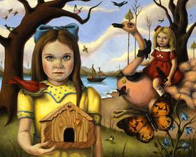 【版画】Ana Bagayan(亚美尼亚)|Butterfly House(蝶之屋)