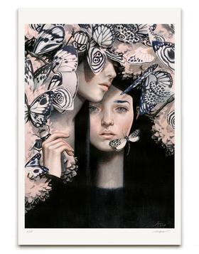 【版画】Tran Nguyen(越)|The Insects Of Love(爱之昆虫)