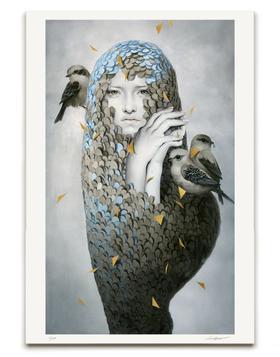 【版画】Tran Nguyen(越)|Nestled Withing A Pallid Disposition(掩隐苍白中)