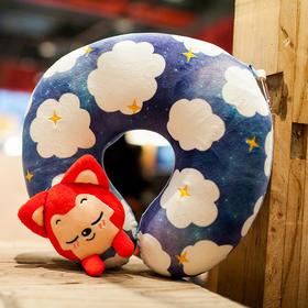 阿狸U型枕,装饰你的美梦