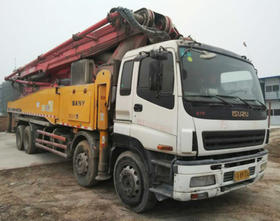 陕西14-五十铃底盘56米泵车(订金)