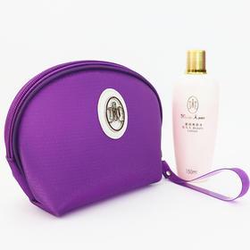 玛丽艳新款便携紫色化妆包韩国面料防水设计