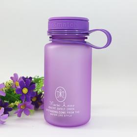 玛丽艳创意定制紫色太空杯便携 容量500ML