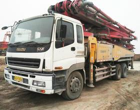 陕西02-五十铃底盘46米泵车(订金)