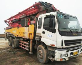 陕西05-五十铃底盘46米泵车(订金)