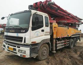 陕西04-五十铃底盘46米泵车(订金)