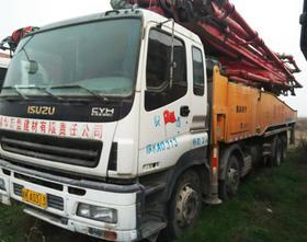 陕西07-五十铃底盘56米泵车(订金)