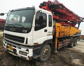 陕西03-五十铃底盘43米泵车(订金)