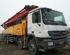 陕西12-奔驰底盘56米泵车(订金)