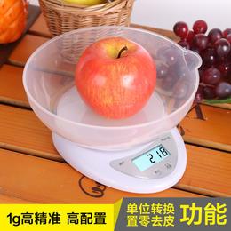原始点姜秤厨房电子秤 迷你称带托盘背光 高精度 1kg/0.1g 3kg/0.1g 5kg/1g【多量程可选】