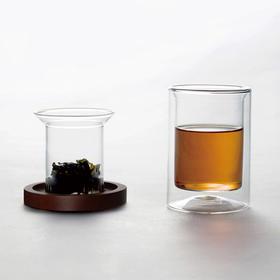哲品茶具配件茶壶过滤玻璃泡茶器办公室功夫茶冲茶器ZK杯黑川雅之