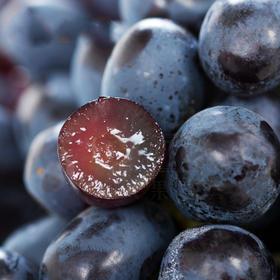【进口水果】进口无籽黑提 3斤 进口黑加仑提子甜度高 进口新鲜水果