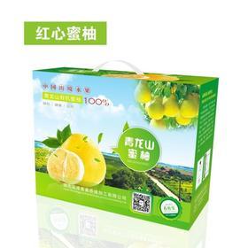青龙山红心蜜柚 有机认证 出口备案基地出品 5枚