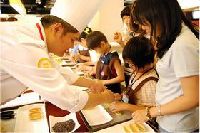 【亲子厨房】快乐亲子厨房,学习和制作爱心舒芙蕾和蔓越莓饼干