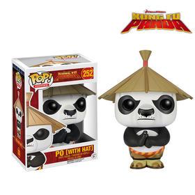 【美国】Funko POP 功夫熊猫 戴帽子的阿宝6402