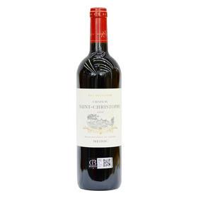 圣克里斯拓弗城堡干红葡萄酒(梅多克中级酒庄 随时随意波尔多百款佳酿)