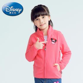 海外秀迪士尼米妮女童摇粒绒开衫外套2016春装新款 原价¥ 139