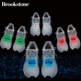 美国Brookstone Flashbugs 酷炫发光鞋带灯 安全信号警示灯 户外夜间照明发光体 多色可选(顺丰快递)