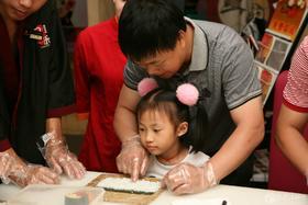 2.28【亲子厨房】美味时光,亲子共享!寿司DIY,快乐卷起来!!