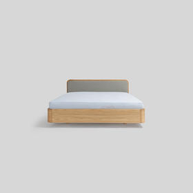 艾迪玛仕 |  实木床SD15217原创设计1.5/1.8米(运费咨询客服)