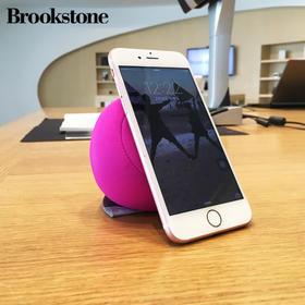 美国Brookstone  懒人手机支架  手机通用支撑垫  魔力球