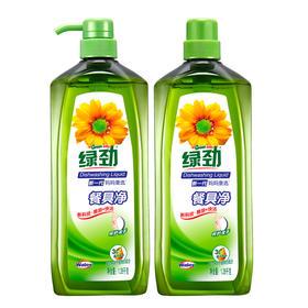 【3.8女人节】绿劲餐具净(柚子金桔/柠檬草)1.28KG+补充装1.28KG