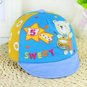 韩国婴儿帽子春秋男女童6-12个月宝宝帽子儿童帽子鸭舌帽秋60040