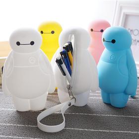 韩版大白款男女可爱创意笔盒030203