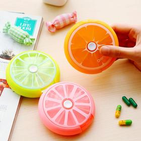 旋转药盒便携一周的所需药量   文具