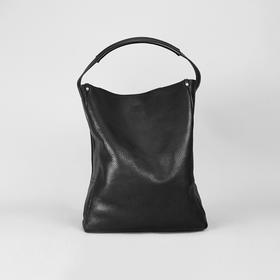 Alfie Douglas 随性气质手提包黑色粒面牛皮|3 款(英国)