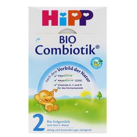 保税区直发 德国喜宝益生菌 益生元配方奶粉 HiPP cmk 2段 600g