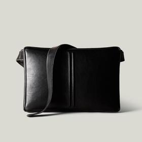 Hardgraft 简约电脑单肩斜背包iPad/MacBookPro/air | 黑色(英国)