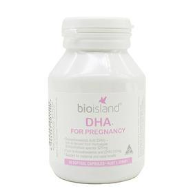 澳洲Bio Island DHA for Pregnancy孕妇专用海藻油DHA 60粒/瓶