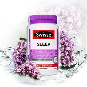 澳洲Swisse sleep睡眠片100粒草本精华帮助改善成人睡眠