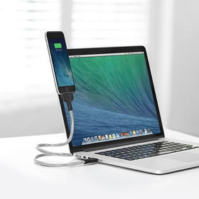 Bobine金属防断创意站立支架苹果数据线MFI认证iPhone6/6s/iPad