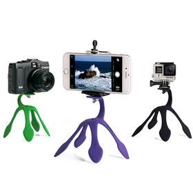 全网最畅销迷你便携壁虎三脚架,相机手机自拍旅行必备
