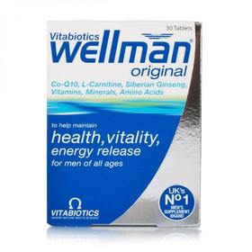 wellman Original 男士复合维生素加强版56片