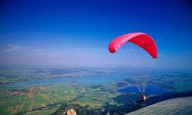 滑翔伞飞翔体验,做一天'鸟人'!