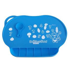 贝瓦儿童硅胶口袋餐垫