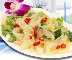 富参岛即食海蜇超值组合 香辣糖醋 餐桌美食