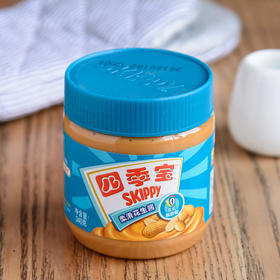 四季宝柔滑花生酱 早餐面包酱拌面酱火锅调料蘸料340g