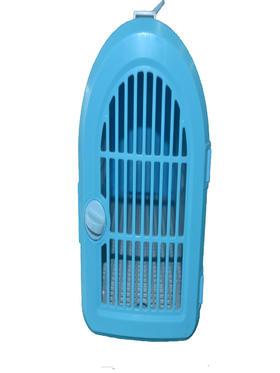 蓝色塑料宠物外带箱